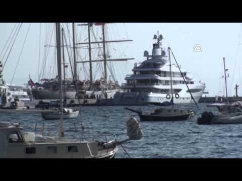 Anadolu Agency - Mexican billionaire's liuxury yacht in Bodrum