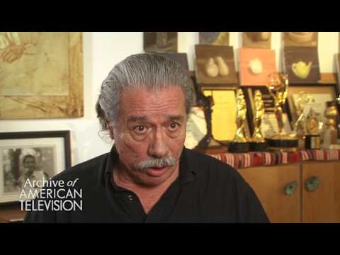 Edward James Olmos discusses his first day on
