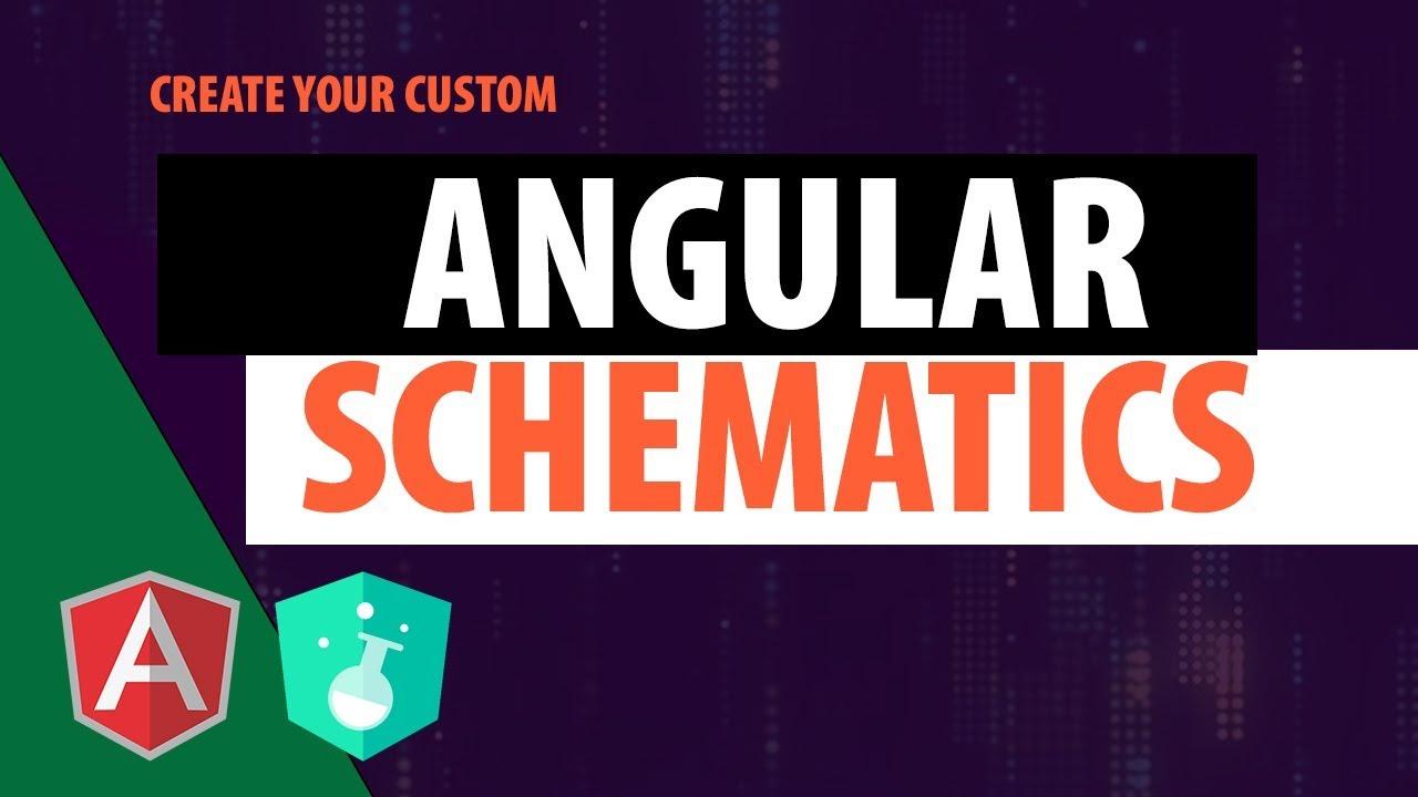 Angular schematics tutorial | Coding Videos