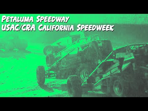 In this #episode of #InSLideTheDIRT we venture to Petaluma, California at the Petaluma Speedway for USAC/CRA California Speedweek action. Watch as the ... - dirt track racing video image