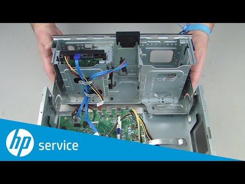 Replace the Storage Drive Tray | HP Pavilion Gaming 790-xxx PC Series and ENVY Desktop 795-000 CTO