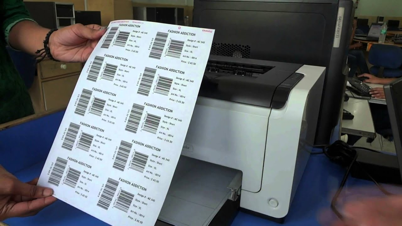 It's just a photo of Handy How to Print Barcode Labels