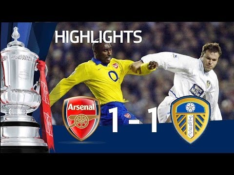 Arsenal 1-1 Leeds | The FA Cup 3rd Round - 08/01/11