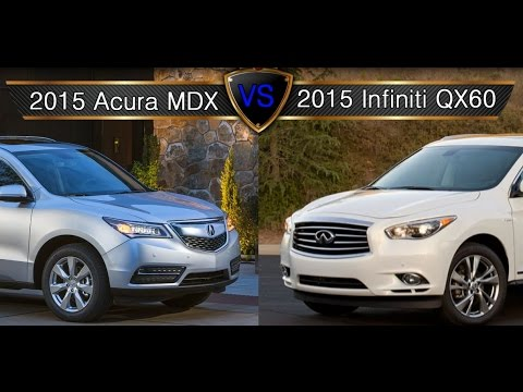 acura mdx vs infiniti qx60 vs land rover dis. Black Bedroom Furniture Sets. Home Design Ideas