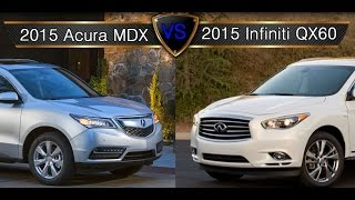 Mdx video clips for Infiniti qx60 vs honda pilot