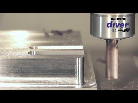 Guhring Diver RF100 - Carbide Milling Cutter