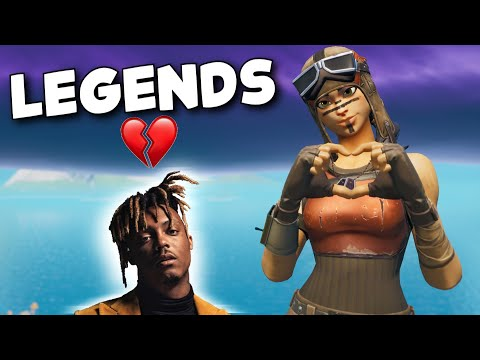 "Fortnite Montage - ""LEGENDS"" (Juice WRLD)"
