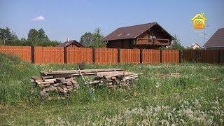 Полупрозрачный деревянный забор. Своими руками // FORUMHOUSE(Существует огромное количество типов заборов. Они могут быть сплошными и с просветами, деревянными, кирпич..., 2014-07-08T10:01:38.000Z)