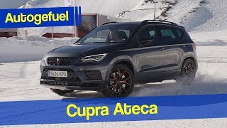 300 hp compact SUV Cupra Ateca REVIEW - Autogefuel