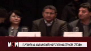 18/07/15 14:37 ESPERANZA BOLIVIA FINANCIARÁ PROYECTOS PRODUCTIVOS EN CERCADO