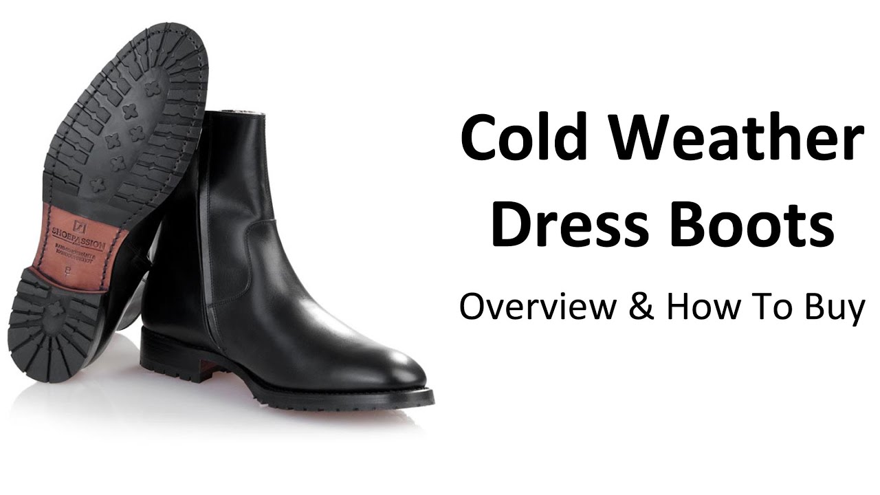 How To Buy Cold Weather Boots - Guide To Buying A Quality Men's ...