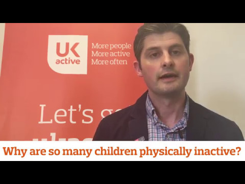 Jack Shakespeare talks about the children's physical activity agenda