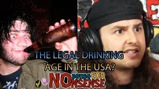 THE LEGAL DRINKING AGE IN THE USA?