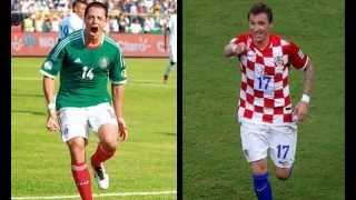 Ver Mexico vs Croacia en Vivo Online 23 de Junio 2014