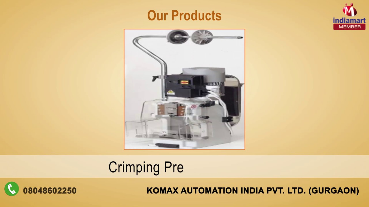 maxresdefault wire processing machine by komax automation india pvt ltd komax wire harness machines at soozxer.org