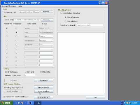 Bonrix SMS Server 4 HTTP API