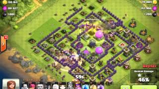 TH 10 Jangan Takut Farming Di Liga Gold 3 | Cara Farming TH 10 Cepat dan Mudah Clash Of Clans