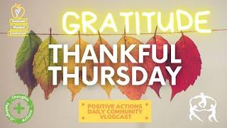 ❤️ Thankful Thursday Week 11🥳 Thankful, agradecida/o for Nov 19, 2020