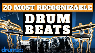 The 20 Most Recognizable Drum Beats