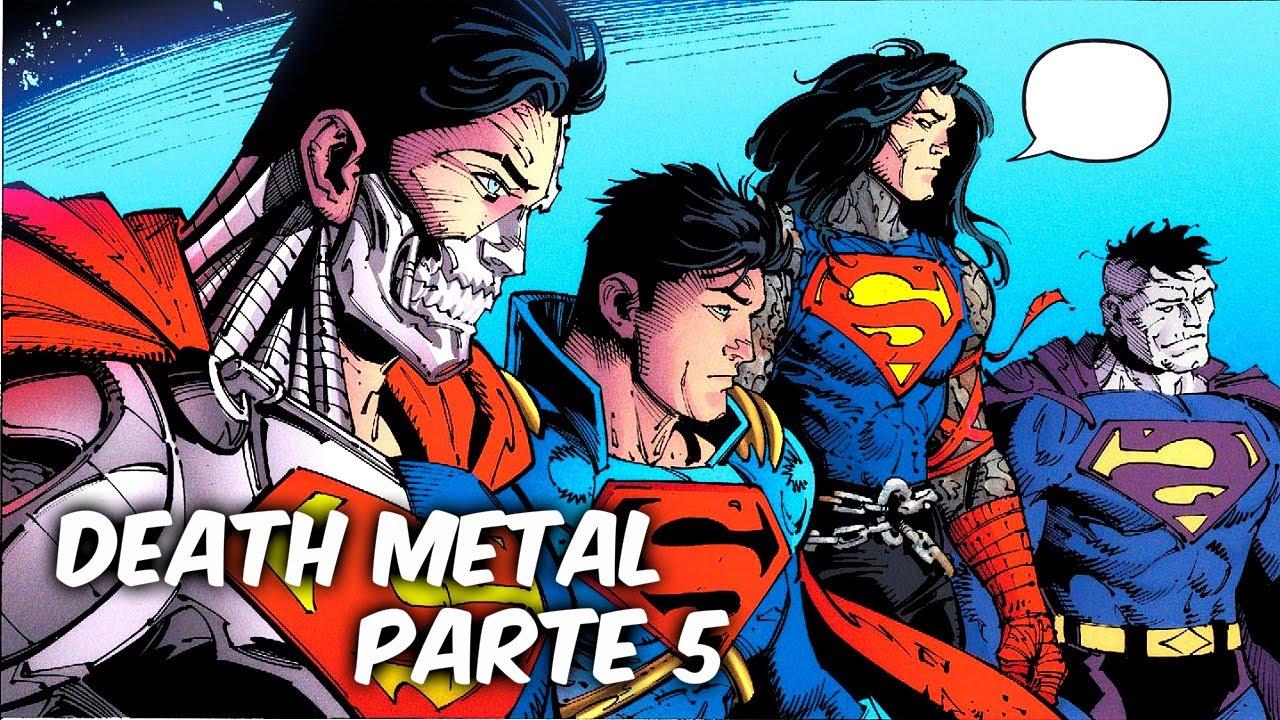 """DEATH METAL: EL PLAN PARA ACABAR AL BATMAN QUE RIE """"DEATH METAL"""" Parte #5 @SoyComicsTj"""