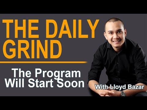 The Right Mindset in getting in ISM and in Stocks Generally | The Daily Grind - 11/09/2018