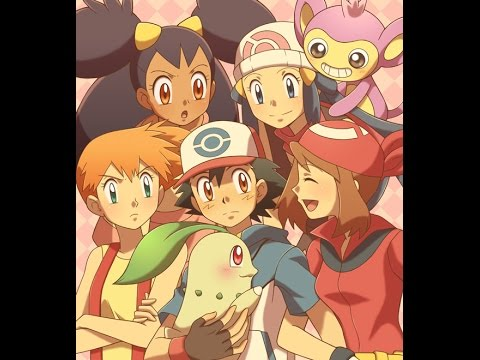 ash and the Pokemon girls