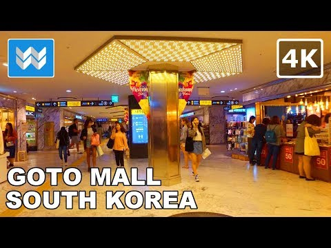 Walking around GOTO Mall in Seoul, South Korea 【4K】  🇰🇷