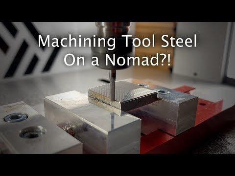 machining-steel-and-stainless-steel-on-the-nomad---#materialmonday
