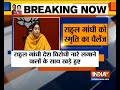 Congress standing with those who raise anti-India slogans: Smriti Irani
