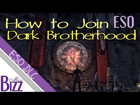 How Do I Get Into The Dark Brotherhood Eso