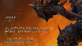 World of Warcraft Legion 7.3.5: How to Fix Dependency Missing (ElvUI, Scrap)
