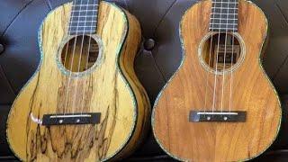 Do you prefer Mango or Koa Ukuleles? Romero Creations Replica and Tiny Tenor