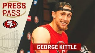 George Kittle on Wk 14 Win 'The Fact That We Got a Win is All I Care About' | San Francisco 49ers