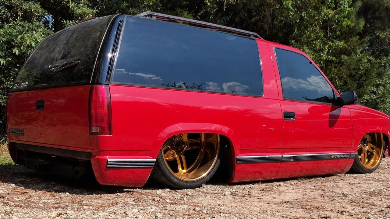 Bagged Bodydropped Two Door Chevrolet Tahoe Chis By Slaughter House