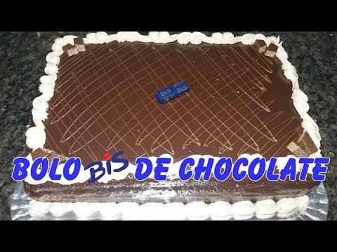 BOLO BIS DE CHOCOLATE