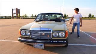Lowered 1979 Mercedes-Benz 240D W123