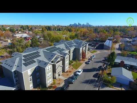 Martinez & Nettie Moore Apartments Solar PV System