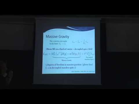 Claudia De Rham - Massive Gravity