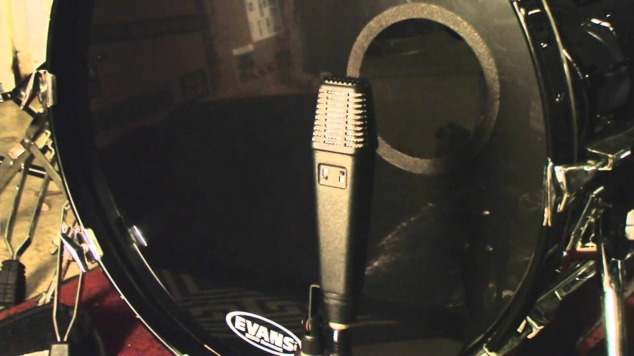 Recording Drums Using 4 Oktava Studio Condenser Microphones