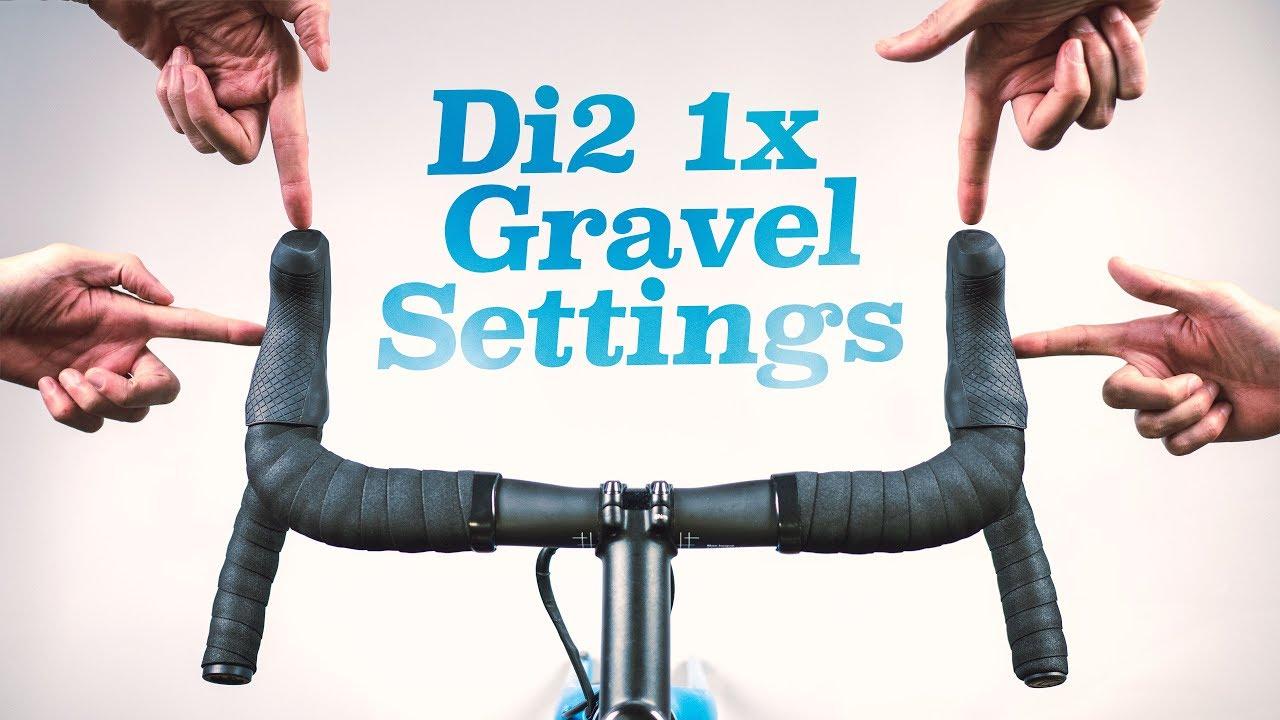 My Di2 Settings For A 1x Gravel Bike E Tube Ios App Walkthrough