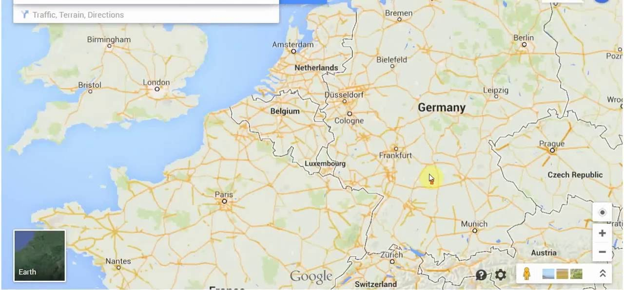 Germany Blocked Google Street View YouTube - Germany map google