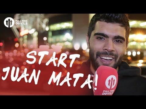 Start Juan Mata!   Manchester United 1-0 Manchester City   REVIEW