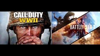 лучшие 2 игры про первую и вторую мировые войны в жанре шутер 2017г