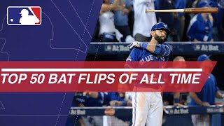 The Top 50 bat flips in MLB of All-Time