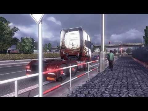 Euro Truck Simulator 2 || Rotterdam(NL) - Bratislava(SL) H-shifter G27