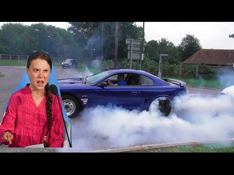 Greta Thunburg vs Cars!