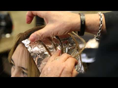 how-are-highlights-done-in-a-salon?-:-the-sheer-beauty-of-hair