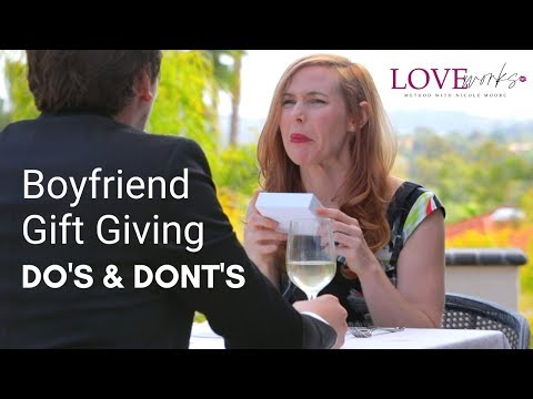 Boyfriend And Dating Gift Giving Do's And Dont's / What To Get Men For Holiday Gifts