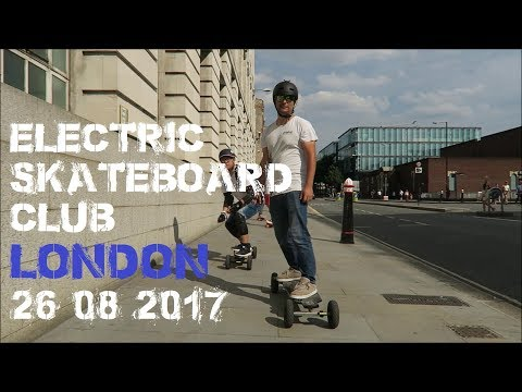 UK ESk8 Electric Skateboard Club London Road Ride - Esk8r