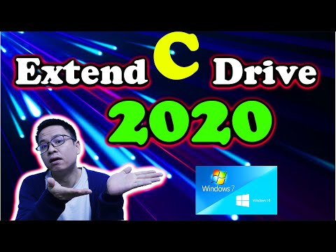 How to Extend C Drive Volume On Windows 10 2020